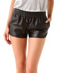 Helmut Leather Shorts