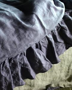 Ruffle Linen Bedding