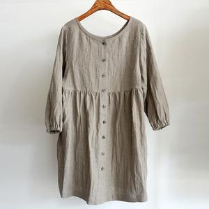 (LINEN BY G )HIDY DRESS