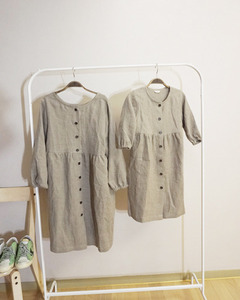 (LINEN  BY G)   HIDY YOUNG DRESS